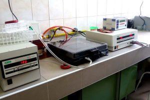 Stanowisko do badań genetycznych drobnoustrojów wraz z wyposażeniem laboratorium FW15 w CePT